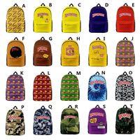 20 Styles Hiking Backpack Men Breakfast Women Traveling Biking Shoulder Vape Cigar Laptop Bag For 3D Bag Boys Girls Schoolbag Backwoods Siio