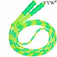 Pular cordas macias tpu beads jumprope pulando corda pulando nylon para adulto crianças treinamento velocidade interior esporte equipamento de fitness