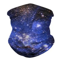 Outdoor Cycling Scarves Bandana Magic Scarf Sunscreen Hair Band Sport Customized Face Neck Men Flag Starry Sky Turban 300pcs T1I2275