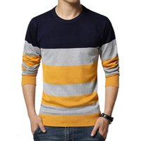 Autumn Winter Sweater Men Casual Sweaters Homme Shirt Mens O-Neck Knit Warm Pullover Pull Jersey Plus Size 3XL Male Sweater