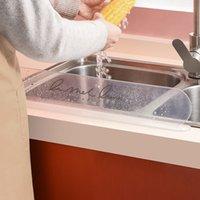 Lavabo bölme ev mutfak aletleri sıçratma yapmayan bölme paneli tezgah su duvarı tutmak mutfak temiz MY-inf 0139