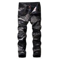 Erkek Kot Retro Sıska Erkekler Moda Denim Pantolon Düz Motosiklet Pantolon Hip Hop Rahat Ince Erkek Vaqueros Hombre Hiçbir Kemer