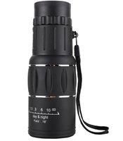 60pcs telescópio16x bifocal 16x52 telescópio monocular zoom 66m / 8000mhd Visão noturna ao ar livre manchando escopo