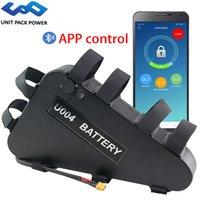 UPP Bluetooth Triangle eBike batterie 52V 48V 20Ah avec APP pour le contrôle 1800W 1500W 1000W 750W 500W Bafang TSDZ2 Kits moteur