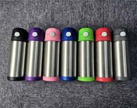 12 onças Bounce Caneca de aço inoxidável Double Wall Tumbler Vacuum Crianças Cup Duplas garrafa de água portátil Copo Drinking A02