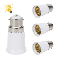 Bajonet BC B22 tot ES E27 Schroef Gloeilamp Lamp Adapter Montage Converter Hoogwaardige Adapter B22 naar E27 Dropshipping Groothandel