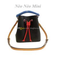 2020 New Style Femme Sacs Bucket Mode neoneo BB M52853 Mini Designer Sacs à main en cuir véritable sac à bandoulière En Stock Livraison gratuite