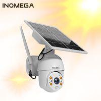 Painel PTZ INQMEGA IP Camera Solar Power Dome WiFi 1080P Outdoor Wireless Security Camera PIR Motion Detection Vigilância CCTV