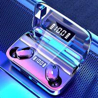 Headsets Hohe Qualität A9 TWS Wireless Bluetooth In-Ear-Ohrhörer Berühren Sie Control-Geräuschreduktion Kopfhörer für Huawei