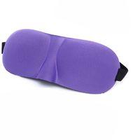 Mode de sommeil à la mode de mode de luxe confortable Couvre-mousse 3D Masque oculaire avec bouchons d'oreille Portable bandes bandes oculaire EyePatch Eye Caretools