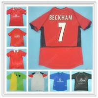 Retro Man Utd Beckham Cantona Ronaldo Rooney Jerseys G.neville Andy Cole Chicharito Giggs Scholes Carrick Camicia da calcio calcio