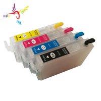 잉크 리필 키트 NX420 / T22 / TX120 / TX420W / TX120 / TX420W / Workforce 320 프린터 용 T1334 카트리지 4pcs / 세트 T1334 카트리지