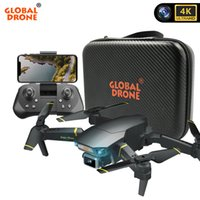 GLOBAL DRONE 4K DRON mit HD-Kamera EXA GD89 Pro RC Hubschrauber FPV Quadrocopter Hindernissensing Drohnen VS E58 Spielzeug