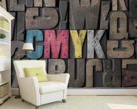 Classic 3D Wallpaper European Wallpaper HD 3D Stereo Letter Art TV Background Wall 3d Mural Wall Paper