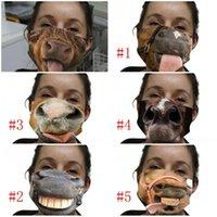Многоразовый Cotton Face Mask Mouth моющегося Mascarilla многоразового Респиратор дышащего ухо Висячего Тип защита Daily Horse 4 5wsi D2