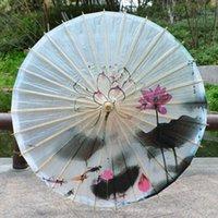 Multicolor Traditioneel Regendicht Papier Paraplu Craft Silk Doek Paraplu Tung Olie Paraplu Dans Foto Decoratie Diameter 84cm Cy BH2166