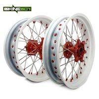 """오토바이 바퀴 타이어 Bikingboy 17 """"Front Rear Rims Hubs exc-f 500 10-15 450 03-15 exc-r 08-09 350 12-15 exc-f250 07-15"""