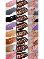 Anastasia Beverly Hills Riviera Boğulma Norvina Göz Farı Modern Rönesans Prizma Yumuşak Glam Mat Su Geçirmez Makyaj 14 Renk Göz-Gölge Paleti