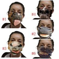 방진 천의 얼굴 재사용 가능한 Mascarilla 세척 호흡 안티 안개 방풍 자외선 증명 스푸핑 재미 말 4 5wsi D2 마스크