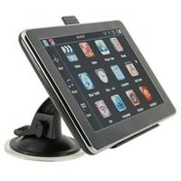 7 pollici GPS Navigator Bluetooth Portable Car Navigator 8 GB 256 MB GPS GPS Dispositivo di navigazione SatNav Maps Mappa Auto Auto Touch Screen 703