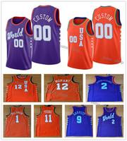 2020 Rising Star USA Team Orange Team Orange Jerseys Men Trae Young 11 الجسور 0 كارتر جونيور 34 Graham 4 Herro 14 Jackson Jr. 13 Jamorant 12 Nunn 25
