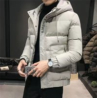 Canadá invierno hombre bombardero homme invierno jassen chaquetas ropa exterior de piel grande con capucha fourrure manteau abajo chaqueta abrigo hiver doudoune