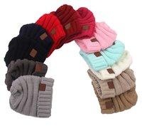 Мода детская шляпа шерсть вязаная шапка младенца простое утолщение с капюшоном теплая шляпа