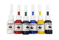 문신 잉크 안료 세트 키트 바디 아트 5ml 전문 미용 영구 메이크업 페인트 공급 20 색 / 병 잉크