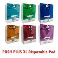 POSH PLUS XL المتاح جهاز قرنة كيت 1500 شغل قبل النفخة 5ML خراطيش VAPE إفراغ القلم VS بار بالإضافة إلى تدفق XXL الانفجار إكسترا أطقم
