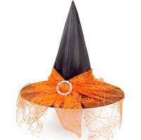 Хэллоуин лента пряжа Ведьма H Decor партии Дети Взрослые Cosplay Реквизит марлевые Witch Hat Хеллоуин костюм для вечеринок Witch Headwear LY925