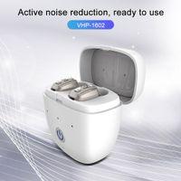 VHP1602 موضة جديدة قابلة للشحن الرقمية السمع صندوق الخفية البسيطة مكبر الصوت سماعات لكبار السن والصمم