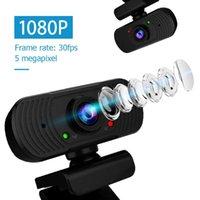1080P 30fps Full HD Веб-камеры Компьютерные аксессуары со встроенным микрофоном Набор для домашнего хозяйства Live Stream Видео конференции