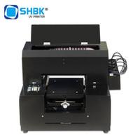 SHBK A4 piccola stampante a getto d'inchiostro uv rilievo 3D metallo acrilico coperture del telefono mobile piatta automatica macchina per fare