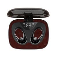العرض ES02 TWS سماعات بلوتوث لاسلكية سماعة LED 5.0 سماعات مع هيئة التصنيع العسكري HIFI صوت ستيريو سماعات الأذن مع صندوق البيع بالتجزئة