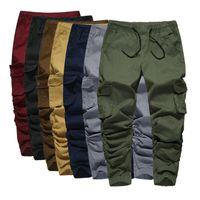 Мужские брюки Volgins Brand Brand Hip Hok Spirtpants Jogger Men повседневная стройная эластичная гарема мужская улица мужские брюки