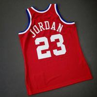 Benutzerdefinierte Männer Jugend Frauen Jahrgang Michael Mitchell Ness 1989 All Star College Basketball-Jersey-Größe S-5XL oder benutzerdefinierte beliebige Namen oder Nummer Jersey