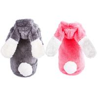 Одежда для собак прибывает домашнее животное кошка одежда коралловый бархатный пальто с капюшоном косплей костюм теплая зима HJ1