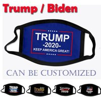 米国在庫デザインフェイスマスクドナルドトランプビデン2020選挙アダルトチャイルドファッションマスクアメリカ3D印刷
