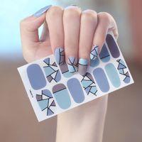 1pc YMX010 Sticker Corea stili impermeabile Nail bambini involucri Adesivi geometrica Stelle Dots Abstract Art Design manicure
