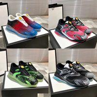 Najnowsze Męskie Ultrapace R Sneaker Top Quality Black Pnit Tkaniny odblaskowe Wykończenia Kobiety Sznurowi Trenerzy Lekkie Buty Runner z pudełkiem