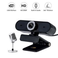 360 Degree Rotation USB Camera Built-in Microphone High-end Video Call Computer Web Camera PC video Conference
