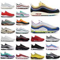 Sean Wothershoon 97 Erkek Kadın Açık Koşu Ayakkabıları Yastık OG Gümüş Altın Spor Atletik Erkek Spor Sneakers 36-45VXAQ #