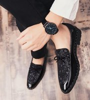 Luxury Fashion Designer Summer Shoes Men Flats Slip On Male ...