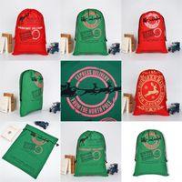 الرنة القطب الشمالي القطن سانتا كيس عيد ميلاد سعيد زينة الرباط حقيبة حلية 2020 الحقيبة الثقيلة هدية كاندي 11 9by C2