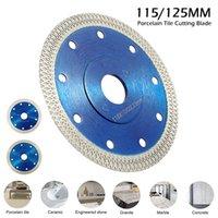105/115 / 125mm Diamantsägeblatt Disc Porzellan-Fliese Keramik Granit Marmor Trennscheiben für Winkelschleifer Stein Sägeblatt