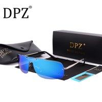 Güneş Gözlüğü 2021 DPZ Moda Polarize Erkek Kadın Marka Tasarımcısı Rays Gözlüğü erkek Entegre Gözlük Güneş Gözlükleri UV400 De Sol