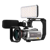 كاميرات الفيديو كاميرا فيديو كاميرا 4K كاميرا فيديو Full HD Ordro AZ50 64X تكبير رقمي IR للرؤية الليلية YouTube Vlogging 13MP CMOS