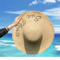 A Beach Cap Summer Fashion Hats Beanie Hat For Woman Adjustable M Letter Caps Womens Straw Hats Highly Quality
