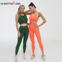 Drachen Fit Trainings-Kleidung für Frauen Jump Anzüge für Frauen 2020 Fitness Gym Set Verband Yoga Set Training Active Wear