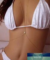 Sexy Star бикини Bralette цепи Harness золотой тон тела способа ювелирных изделий цепи Bra Top тела женщин бюстгальтер цепи